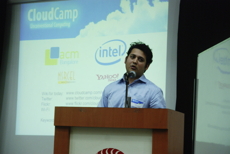 Arjun Gupte sharing his experience on building massively multiplayer online role-playing game (MMORPG) using Clouds